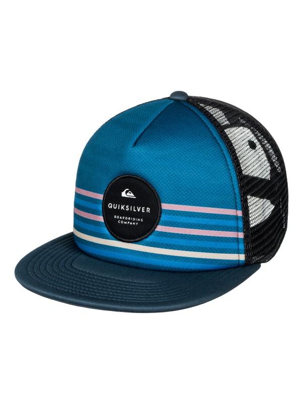 0 Boy's 8-16 Popline Trucker Hat  AQBHA03273 Quiksilver