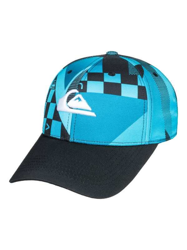 0 Tailwind - Snapback Cap for Boys 8-16 Blue AQBHA03278 Quiksilver