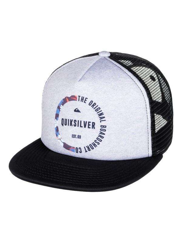 0 Mix Tape - Trucker Cap for Boys 8-16 Black AQBHA03284 Quiksilver