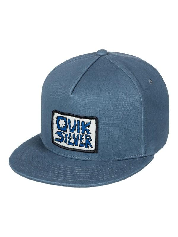 0 Smorgasborg - Snapback Cap for Boys 8-16 Blue AQBHA03290 Quiksilver