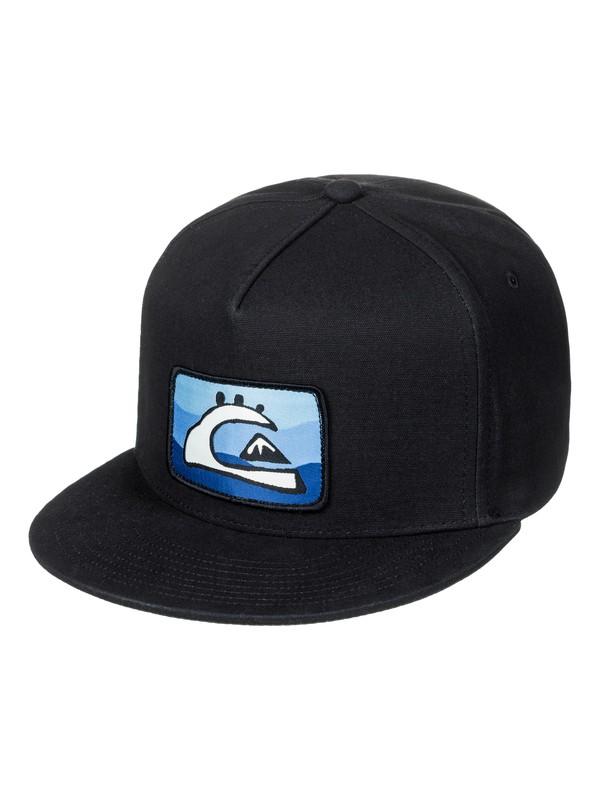 0 Boy's 8-16 Smorgasborg Snapback Hat Black AQBHA03290 Quiksilver