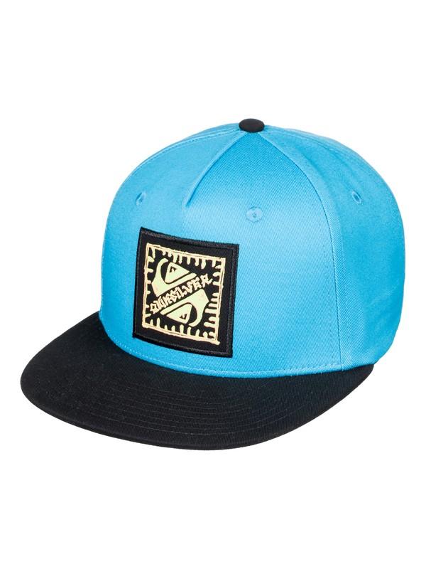 0 Boy's 8-16 Random Man Snapback Hat Blue AQBHA03304 Quiksilver