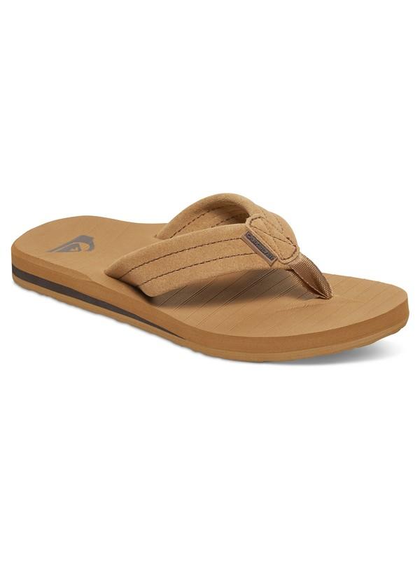 0 Boy's 8-16 Carver Suede Sandals  AQBL100007 Quiksilver