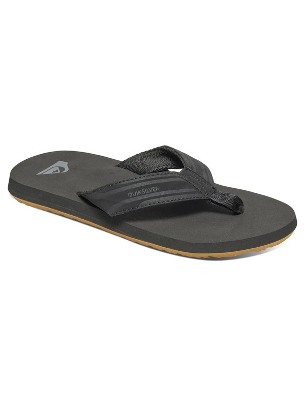 0 Boy's 8-16 Monkey Wrench Flip-Flops  AQBL100008 Quiksilver