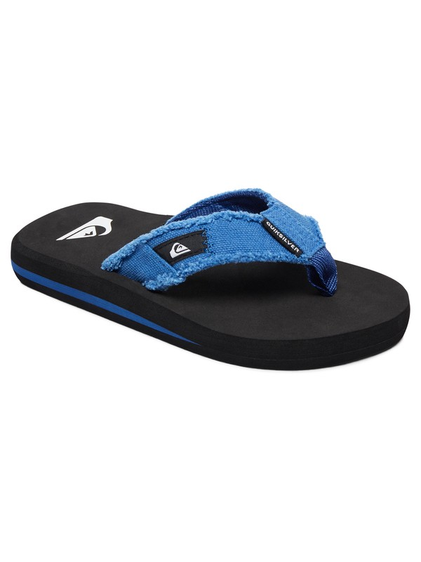 0 Boys 8-16 Monkey Abyss - Sandals Blue AQBL100010 Quiksilver