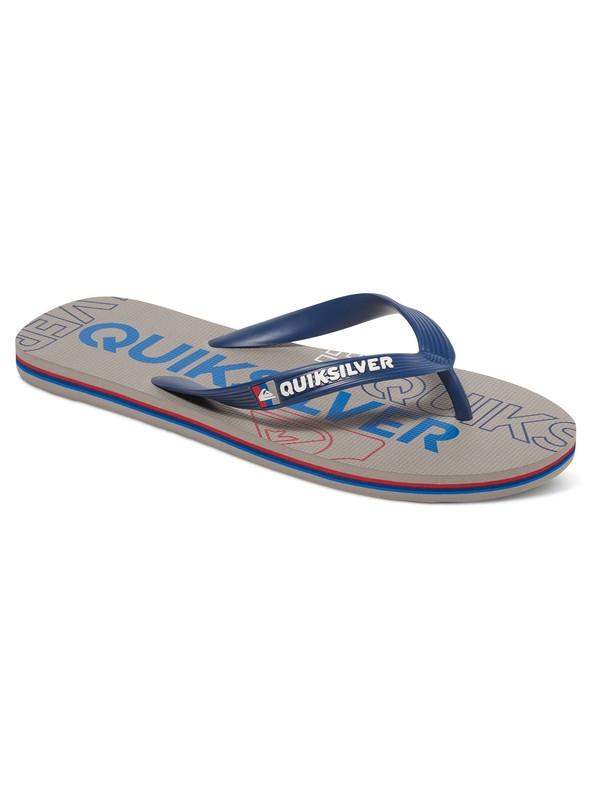 0 Molokai Nitro - Sandalen Blau AQBL100015 Quiksilver
