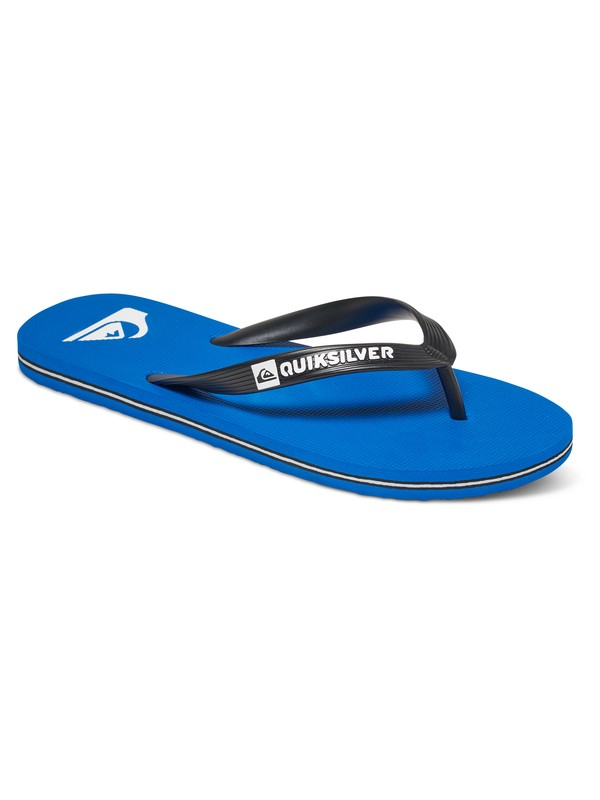 0 Boy's 8-16 Molokai Sandals Black AQBL100017 Quiksilver