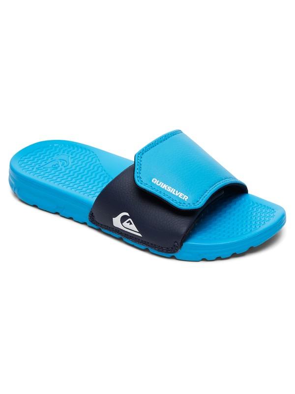 0 Shoreline Adjust - Tongs Bleu AQBL100094 Quiksilver