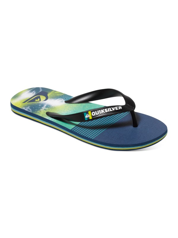 0 Boy's 8-16 Molokai AG47 Remix Sandals  AQBL100095 Quiksilver