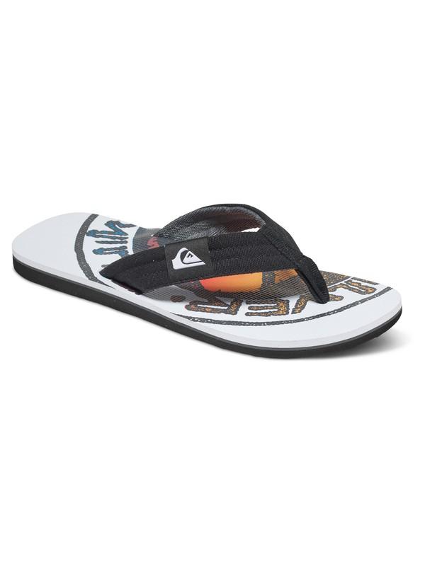 0 Molokai Layback - Chanclas Negro AQBL100182 Quiksilver