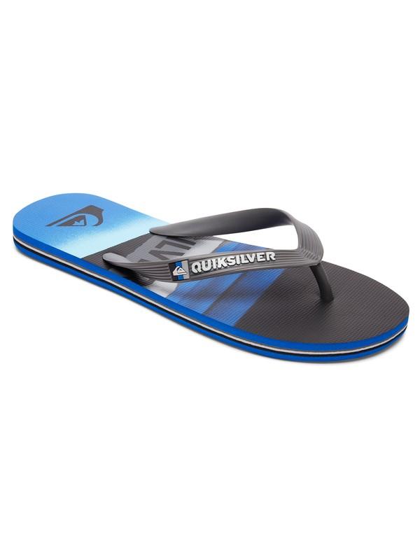 0 Molokai Slash Logo - Sandalen für Jungen  AQBL100230 Quiksilver