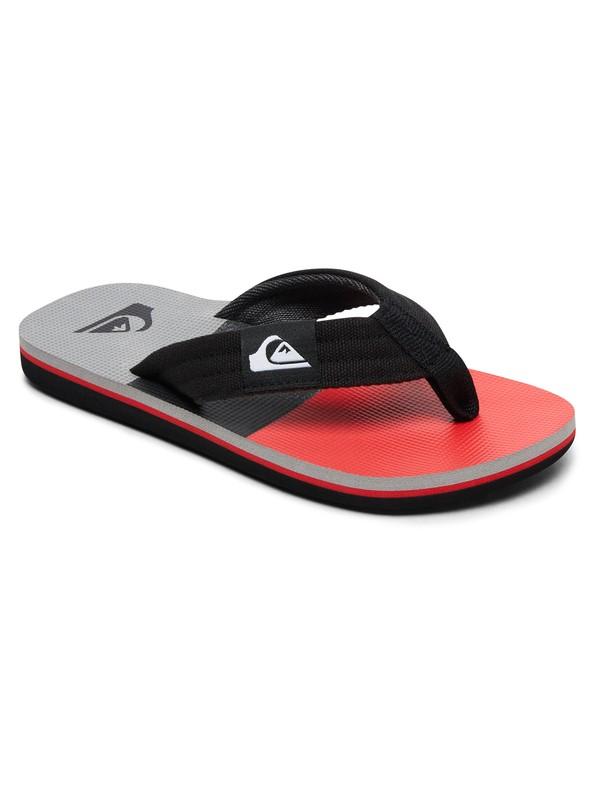 0 Boy's 8-16 Molokai Layback Sandals Red AQBL100261 Quiksilver
