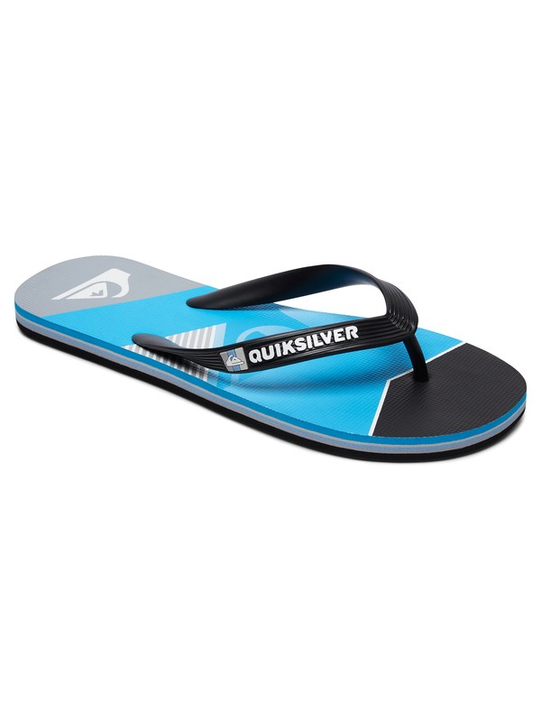 0 Molokai Slash Fade Logo - Flip-Flops for Boys Black AQBL100264 Quiksilver