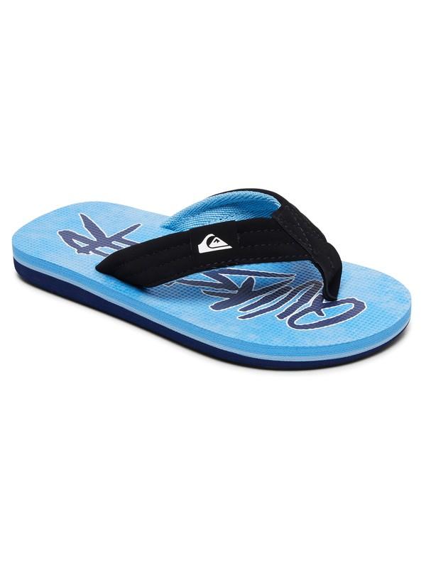 0 Carver Print - Sandals Blue AQBL100269 Quiksilver