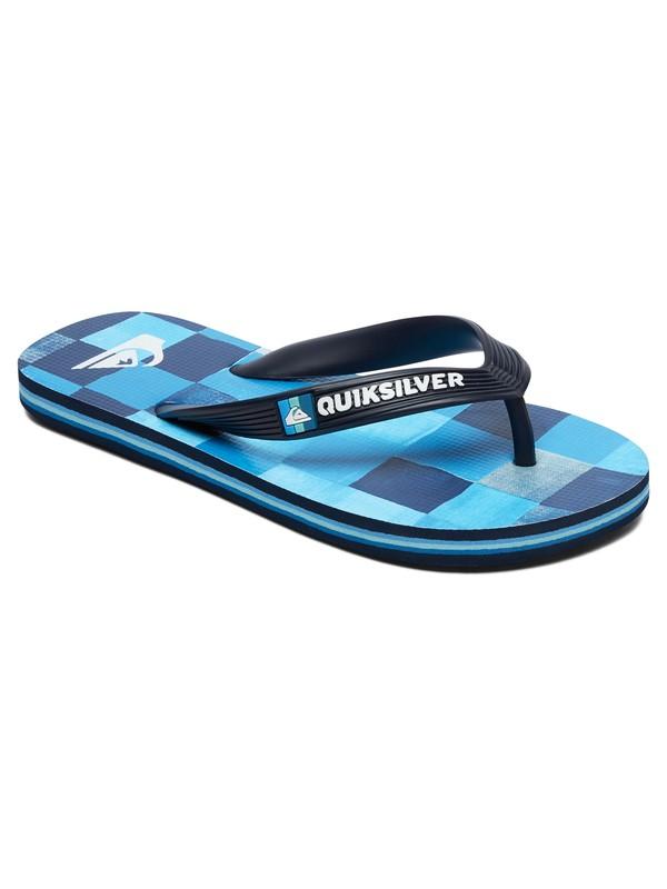 0 Molokai Resin Check - Flip-Flops for Boys Black AQBL100281 Quiksilver