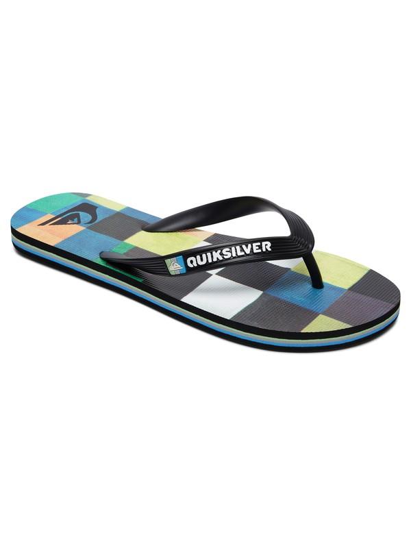0 Molokai Resin Check - Flip-Flops for Boys  AQBL100281 Quiksilver