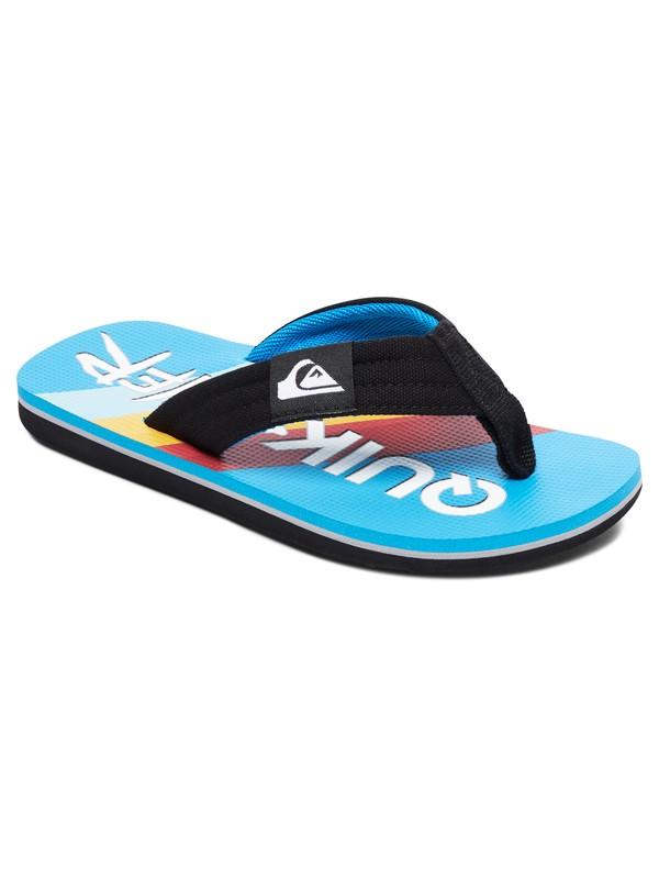 0 Boy's 8-16 Molokai Layback Flip-Flops  AQBL100302 Quiksilver