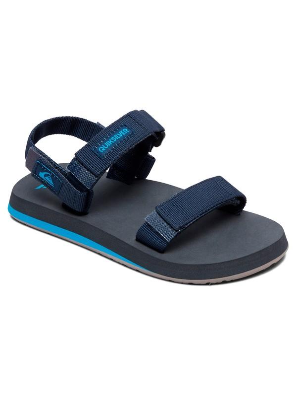 0 Boy's 8-16 Monkey Caged Sandals Blue AQBL100337 Quiksilver