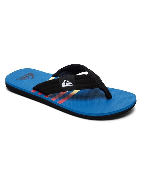 0 Boy's 8-16 Molokai Layback Sandals Blue AQBL100359 Quiksilver