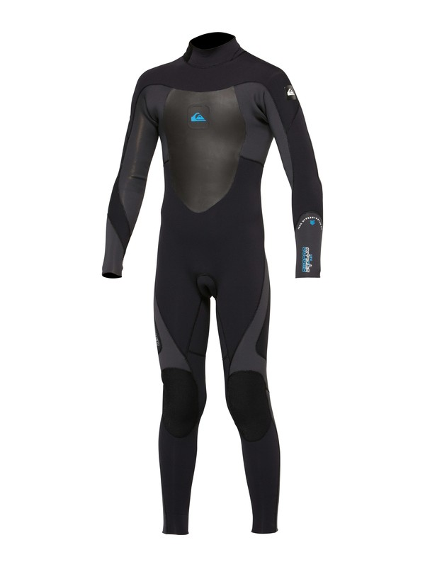 0 Boys Syncro 5/4/3mm Back Zip Wetsuit  AQBW100010 Quiksilver