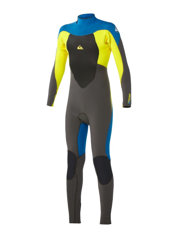 0 Boys Syncro 4/3mm Back Zip Wetsuit  AQBW103006 Quiksilver