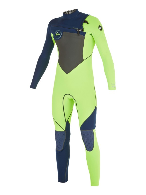 0 Boys 8-16 AG47 Performance 4/3mm  Chest Zip Wetsuit  AQBW103020 Quiksilver