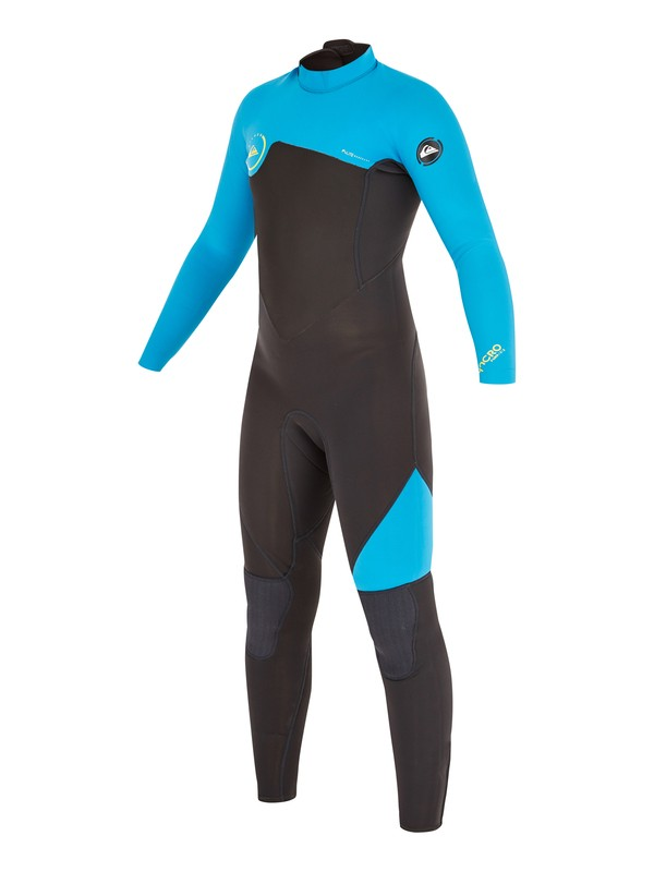 0 Syncro GBS 4/3mm - Back Zip Wetsuit  AQBW103024 Quiksilver