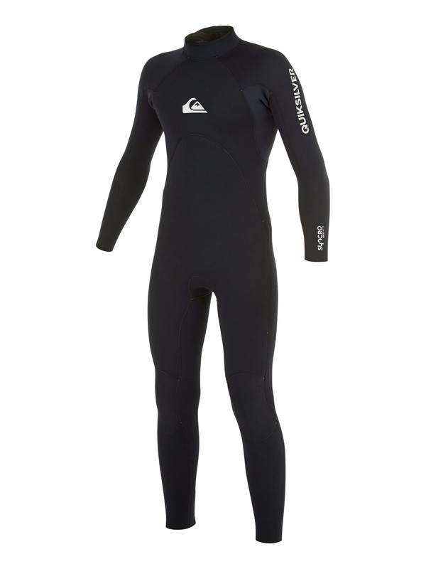 0 Boy's 8-16 4/3mm Syncro Back Zip GBS Wetsuit  AQBW103032 Quiksilver