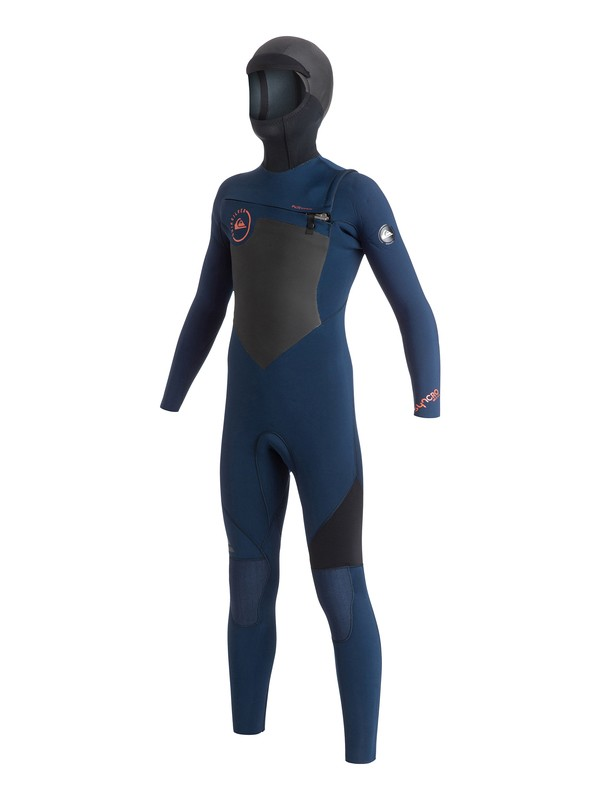 0 Syncro GBS 5/4/3mm - Chest Zip Wetsuit  AQBW203002 Quiksilver
