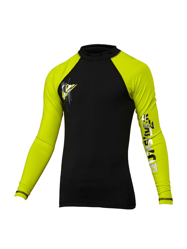 0 Boys 8-16 Over Ruled LS Rashguard  AQBWR00007 Quiksilver