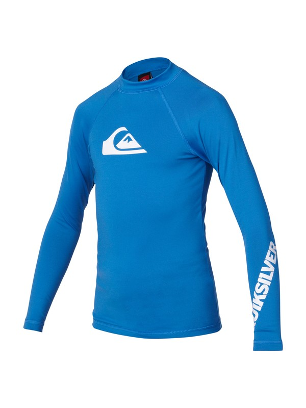 0 Boys All Time Long Sleeve Rashguard  AQBWR00041 Quiksilver
