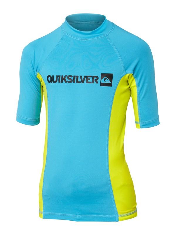 0 Boys Prime Short Sleeve Rashguard  AQBWR00042 Quiksilver