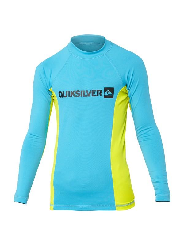 0 Boys Prime Long Sleeve Rashguard  AQBWR00043 Quiksilver