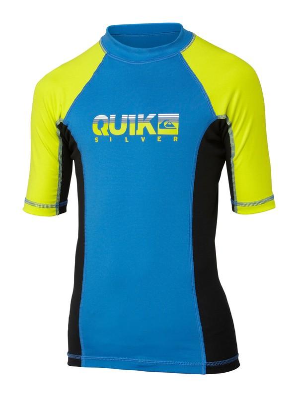 0 Boys Extra Extra Short Sleeve Rashguard  AQBWR00044 Quiksilver