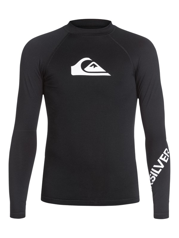 0 All Time Long Sleeve Rash Vest  AQBWR03001 Quiksilver