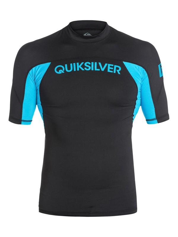 0 Boys 8-16 Performer Short Sleeve Rashguard  AQBWR03002 Quiksilver
