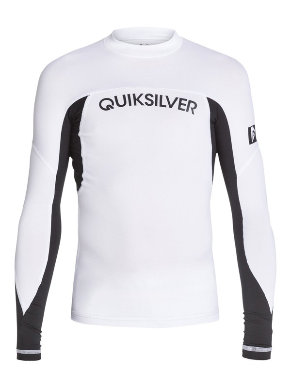 0 Boys 8-16 Performer Long Sleeve Rashguard  AQBWR03003 Quiksilver
