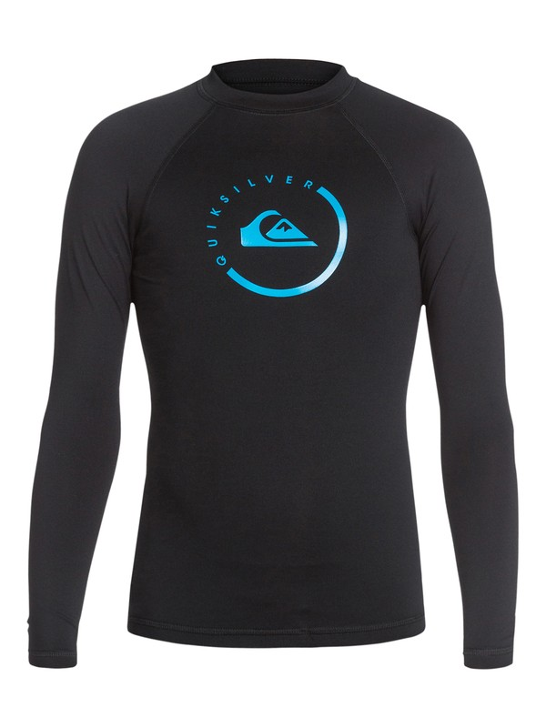 0 Boys 8-16 Lock Up Long Sleeve Rashguard  AQBWR03005 Quiksilver