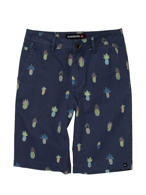 0 Boys 8-16 Pine Berry Shorts  AQBWS00174 Quiksilver