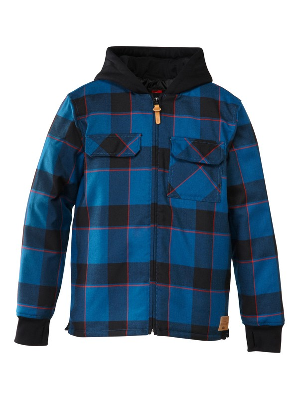 0 Connector Flannel Youth Riding  Shirt  AQBWT00096 Quiksilver