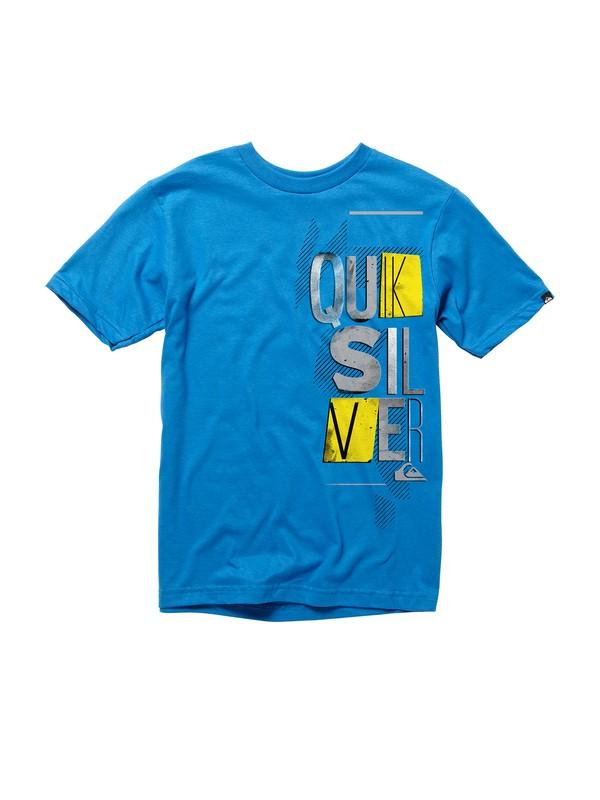 0 Boys 8-16 Break In T-shirt  AQBZT00308 Quiksilver