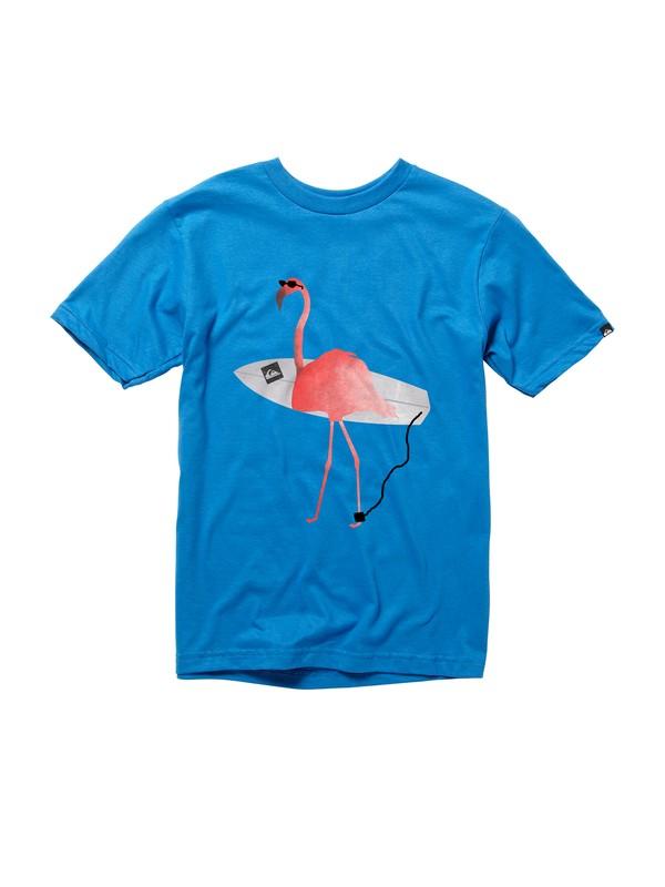 0 Boys 8-16 Flamingo T-shirt  AQBZT00312 Quiksilver