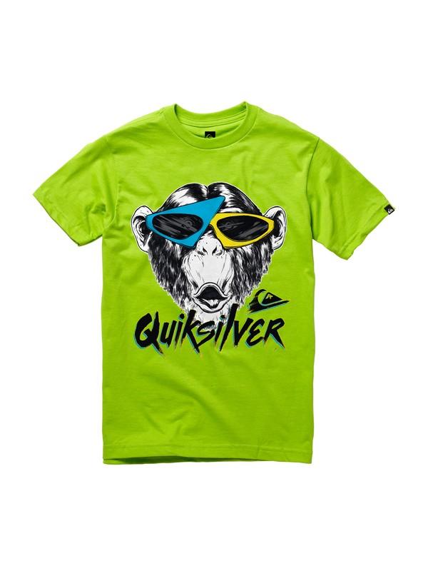0 Boys 8-16 Monkey Biz T-shirt  AQBZT00314 Quiksilver