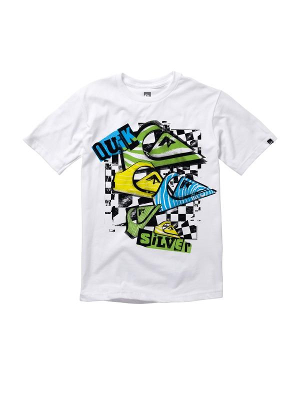 0 Boys 8-16 Disorder T-Shirt  AQBZT00318 Quiksilver