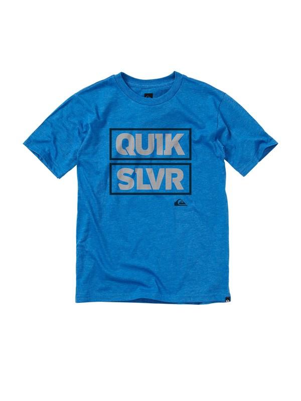 0 Boys 8-16 Boxer T-shirt  AQBZT00328 Quiksilver