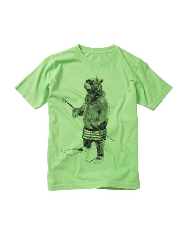 0 Boys 8-16 Island Bear T-shirt  AQBZT00333 Quiksilver