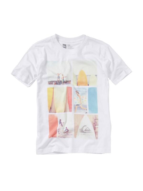 0 Boys 8-16 Echo T-shirt  AQBZT00341 Quiksilver