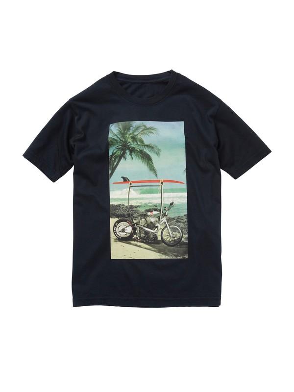 0 Boys 8-16 Bali Harley T-Shirt  AQBZT00433 Quiksilver