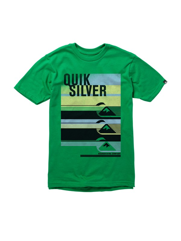 0 Boys 8-16 Alpha Male T-Shirt  AQBZT00444 Quiksilver