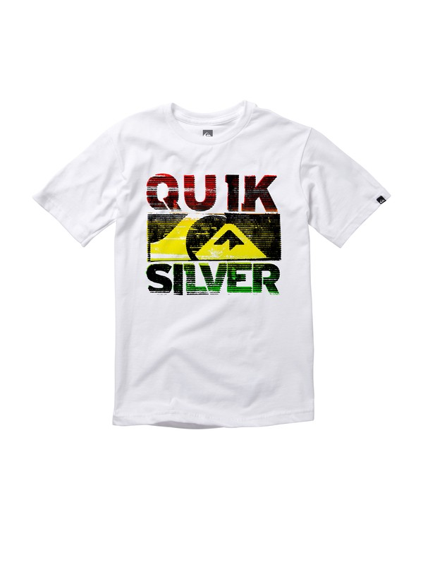 0 Boys 8-16 Idle Hands Solar Ink T-Shirt  AQBZT00450 Quiksilver
